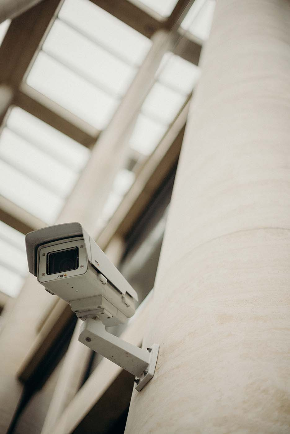 CCTV Security System in a business