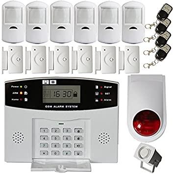 Motion Sensor Burglar Alarm 1